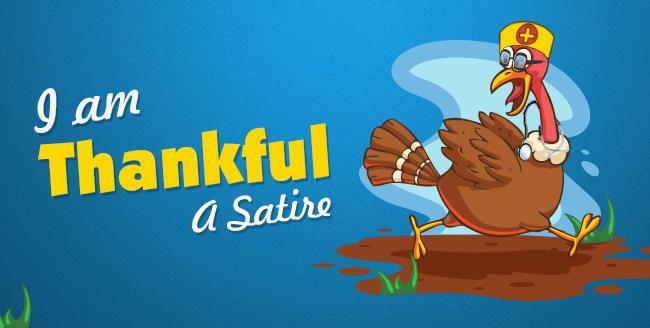 I Am Thankful- A Satire