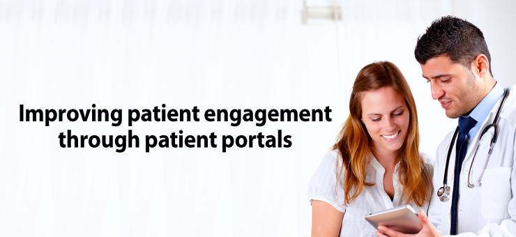Improving patient engagement through patient portals